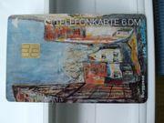 Telefonkarte-UNGEBRAUCHT
