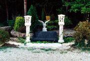 Garten Figur aus Beton Lampe