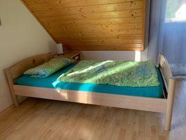 Schränke, Sonstige Schlafzimmermöbel - Bett Birke hell massiv Paidi