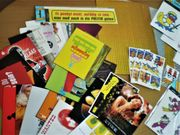 Aufkleber-Postkarten