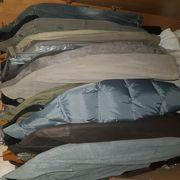 Herrenjacken Leder und Stoff