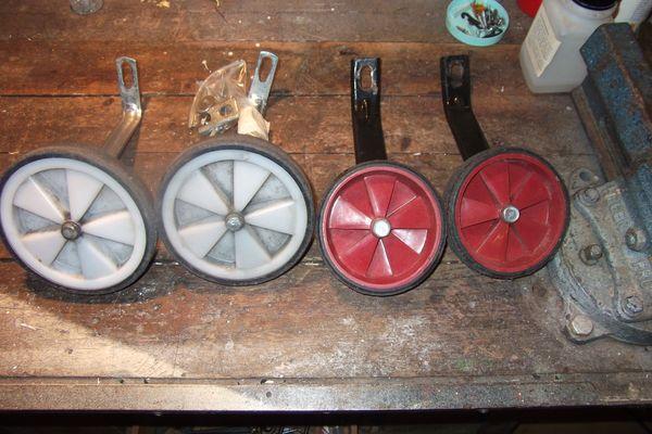 2 Paar Stützräder für Kinderfahrrad