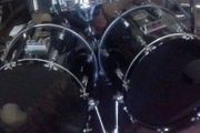 zwei bass drums 22x16 Kessel