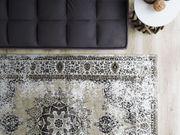 Teppich beige grau 160 x