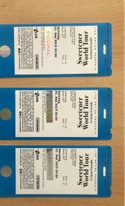 3x Tickets für das Ariana