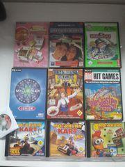 Verschiedene PC-Spiele Tierspiele SIMs Moorhuhn