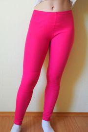 Leggins Pink getragen und verschwitzt