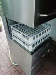 Mastro Haubenspülmaschine Korbdurchschubspülmaschine