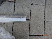 Wandabschlussprofile Edelstahl-Optik für Küchenarbeitsplatte und