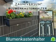ZAUNIVERSUM Blumenkastenhalter für Ihren Doppelstabzaun
