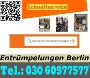 Berlin Entrümpelung Pauschalangebot ab 80