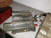 Kellerfund Walther Rechenmaschine Sammlerstück