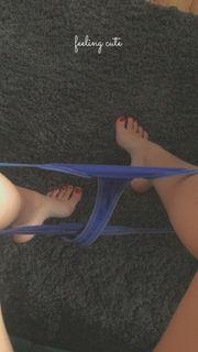 Fußbilder und Slips