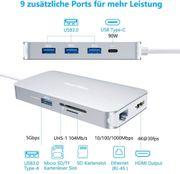USB-C-Hub DesertWest USB Typ C