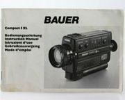 Bauer Compact 3XL Super8 Camera