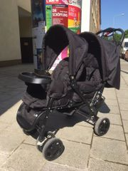 Zwillings Geschwisterkinderwagen Safety 1st Duodeal