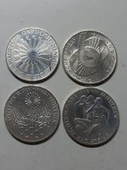 4 x 10 DM Münzen