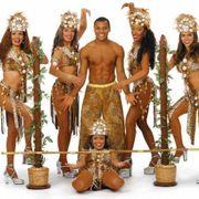 Limbo Show Tänzerin Karibik Limbo