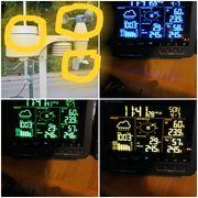 Bresser Wetterstation mit Display