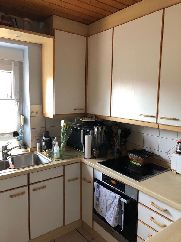 Einbauküche ohne Elektrogeräte bei Abbau