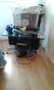 Tv konsole glas