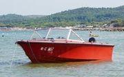 Motorboot Ockelbo mit 40PS Suzuki