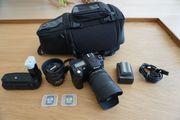 Nikon D90 inkl Objektiven und