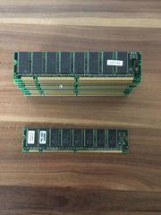 PC Arbeitsspeicher RAM Bausteine Konvolut
