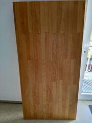 Schreibtischplatte Tischplatte helles Holz