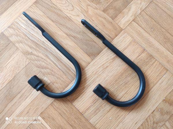 IKEA Raffhalter Gardinen schwarz 15