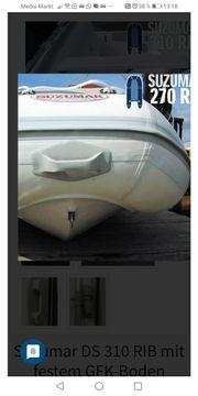 Schlauchboot mit GFK Boden