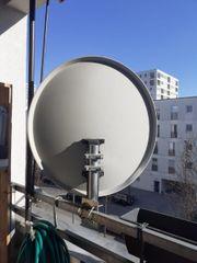 sateliten schüssel abzugeben