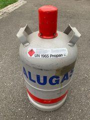 Gasflasche Alu 11KG Alugas LEER