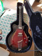 Höfner Gitarre verythin semiakustik