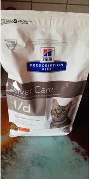 hills leberdiät Trockenfutter für Katzen