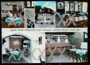 alte Postkarte Gasthof zum Hirsch