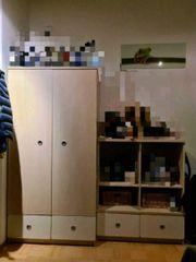 Kleiderschrank und Sideboard 180x185x60 Holz