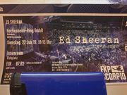 2x Ed Sheeran Tickets Hockenheim