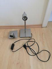 Tischlampe Edelstahl 50 Watt Fischer