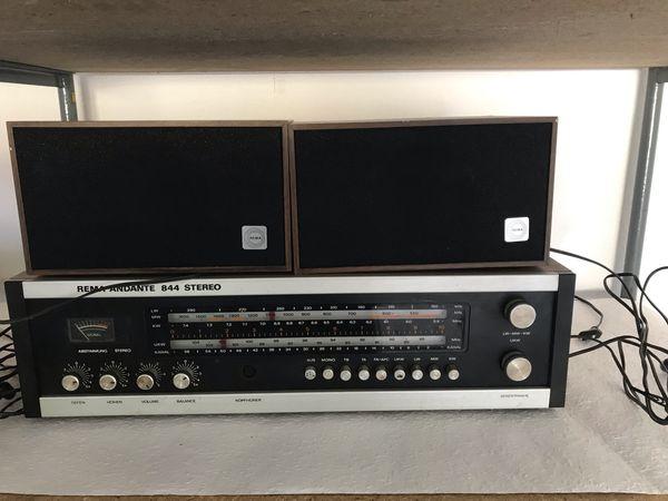 REMA ANDANTE RFT-Radio mit Boxen