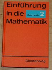 Einführung in die Mathematik - Geometrie 2