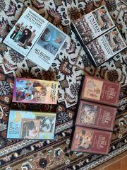 Videokassetten English zu verschenken
