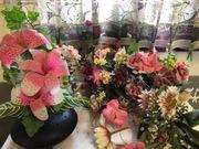 künstliche Blumen 6 Teile