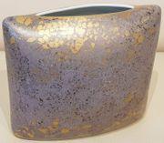 Rosenthal Porzellan Goldfeuer Vase handgemalt