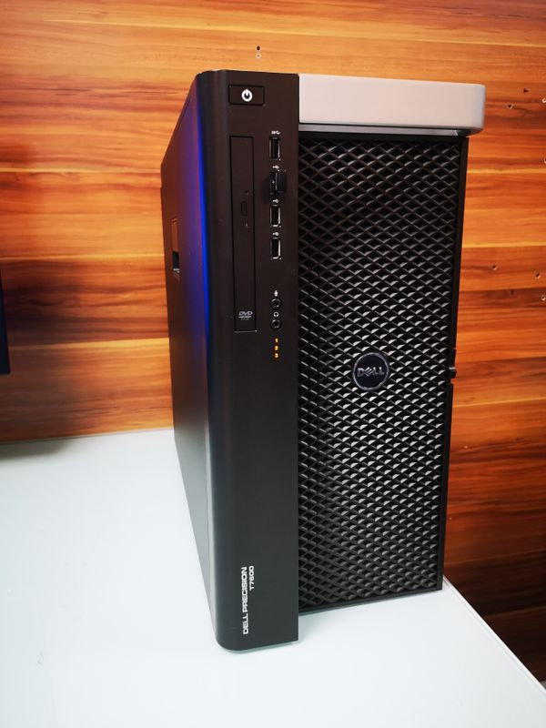 Workstation Dell t7600 128 gb