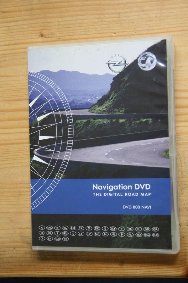 OPEL Navigations DVD 800 Navi