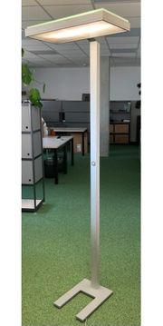4 Stück Zumtobel Stehleuchten Büro