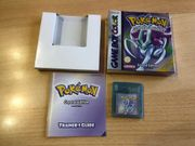 Nintendo Gameboy Pokemon Crystal Spiel