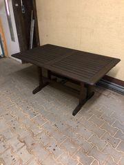 Holz Tisch Gartentisch Gartenmöbel Neuwertig