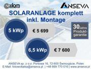 Photovoltaik ab 5 kWp SOLARANLAGEN